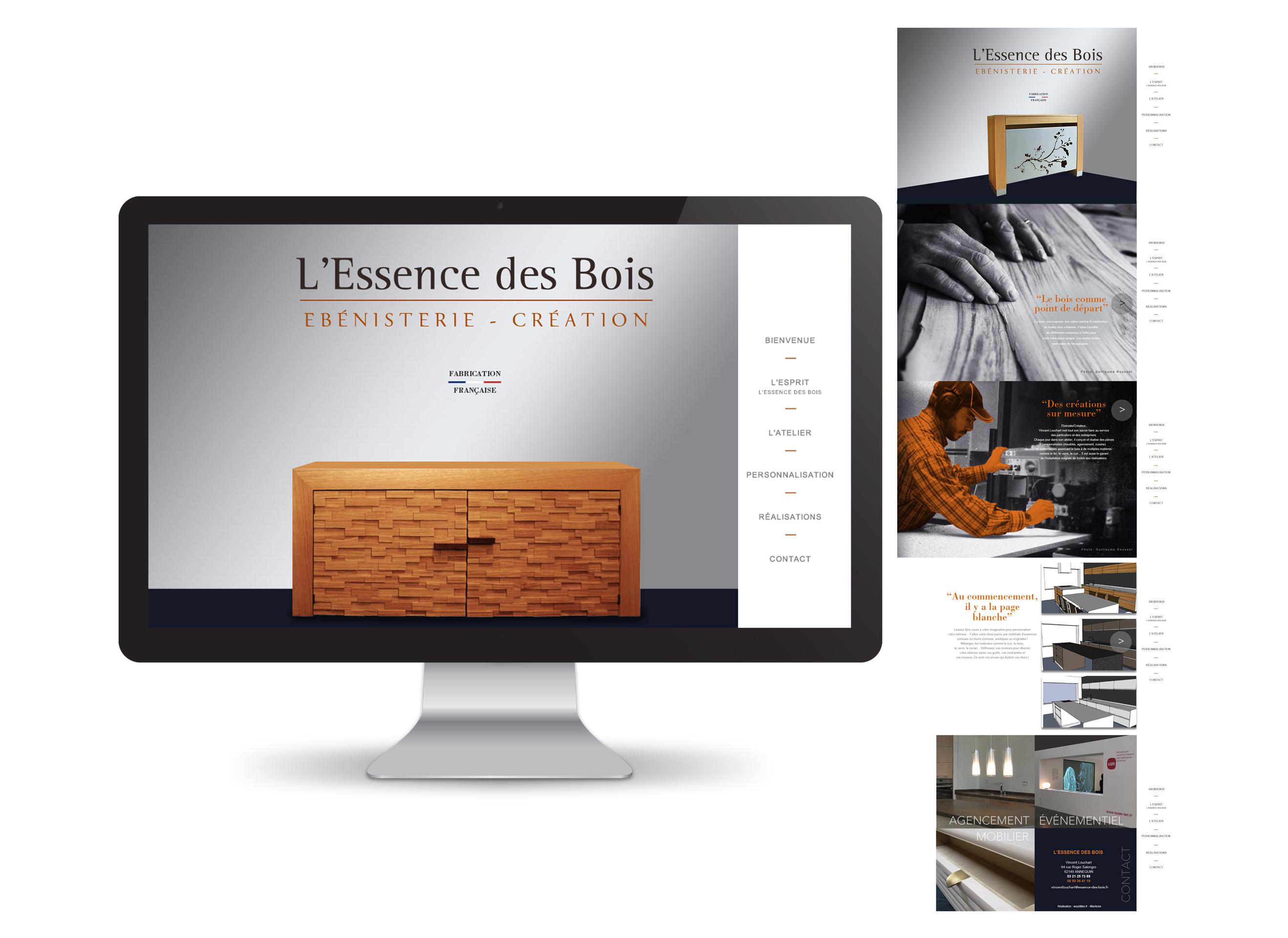 L essence des bois ebeniste designer architecte design meuble ebenisterie - Ebeniste designer meubles ...